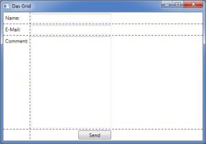 Ein einfaches Grid in WPF